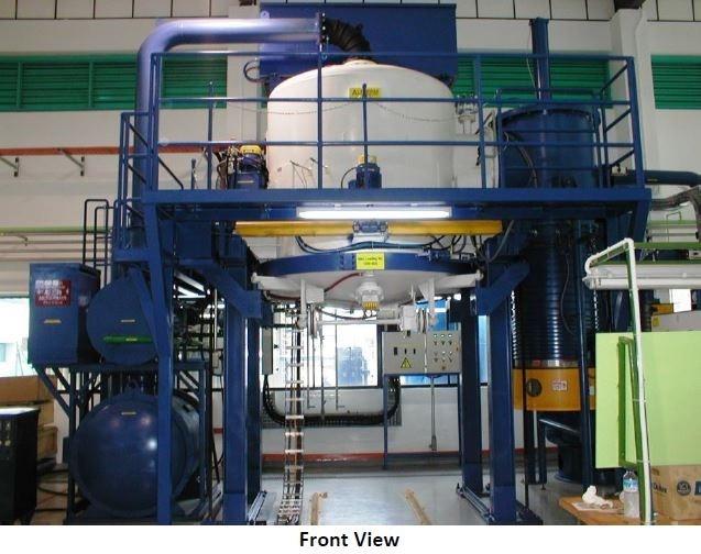 Item#VF342 Ipsen Bottom Load Vacuum Furnace