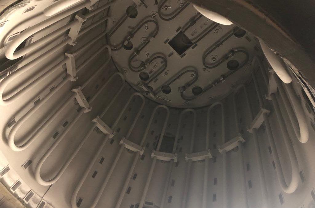 Item#VF354 ALD Degussa Bottom Loader Vacuum Furnace