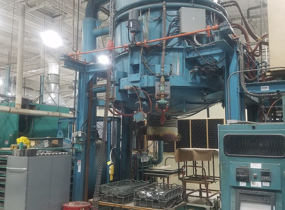 "Item#VF353 Bottom Load Vacuum Furnace 60"" X 60"""