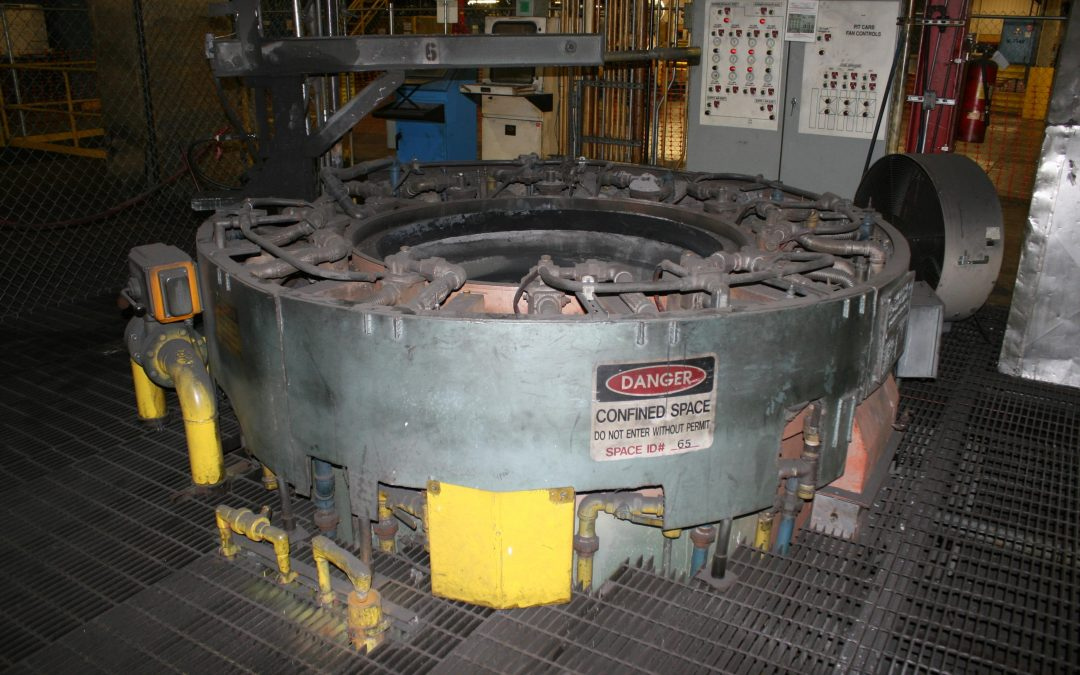 Item#B473 Pit Carburizing Furnaces (2 available)