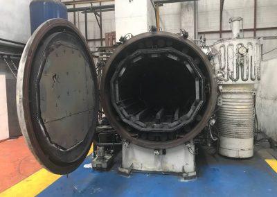 Item#VF356 DeGussa 2 Bar Vacuum Furnace (Located in Turkey)