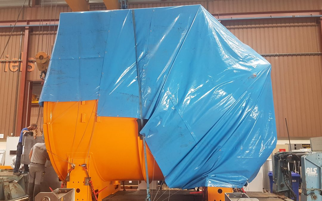 BMI Building Large Vacuum Furnace for China