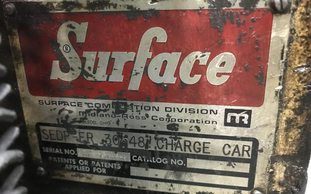 Item#M432 Surface Combustion Charge Car