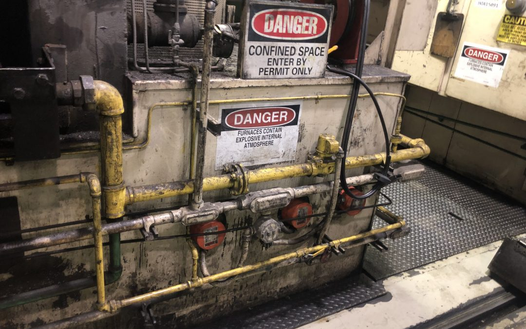"""Item#IQ468 Surface Combustion """"Super 36 Allcase"""" Furnaces (2 available)"""