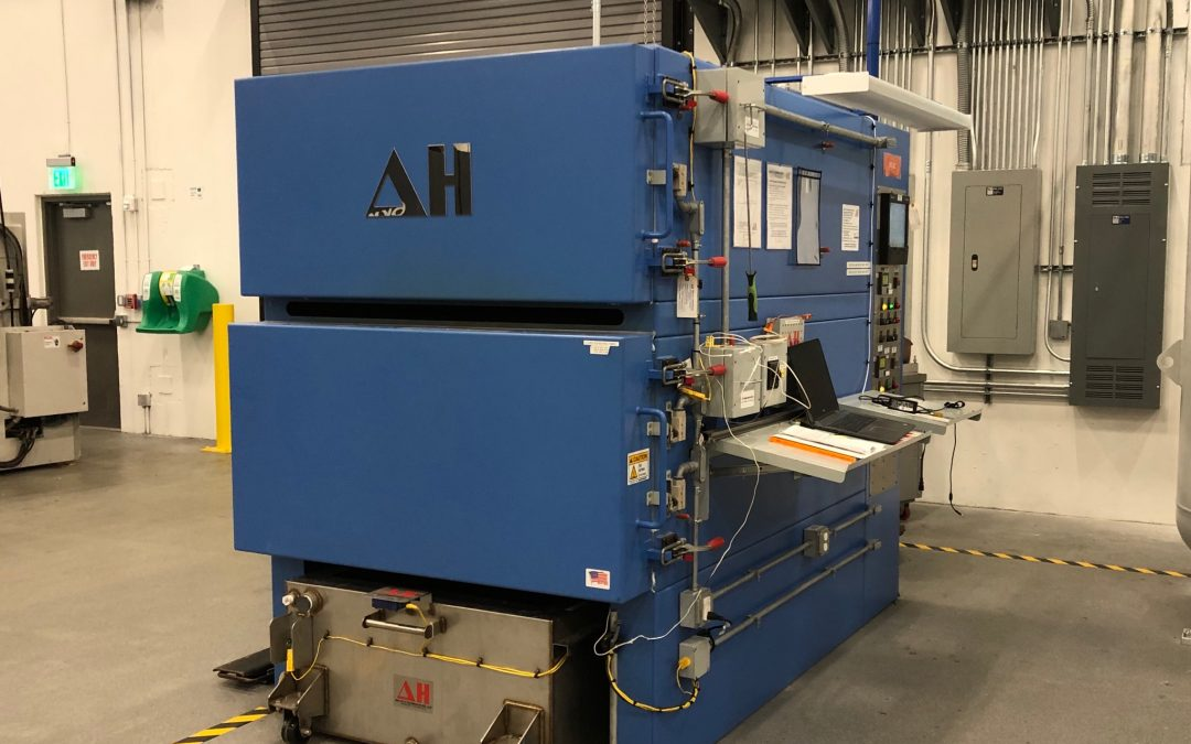 DELTA H Commissions Dual Chamber Aerospace Heat Treating (DCAHT™) System to Sintavia for Additive Manufacturing (AM)