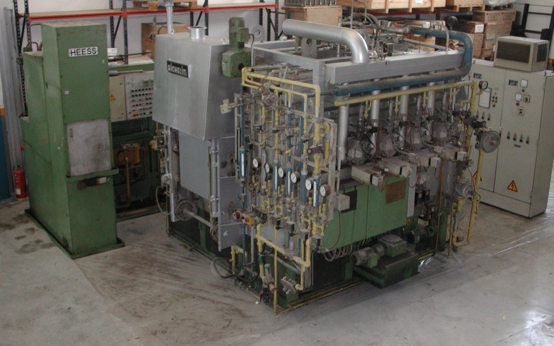 Item#C349 Rotary Hearth Furnace & Press Quench System Available (EUROPE)