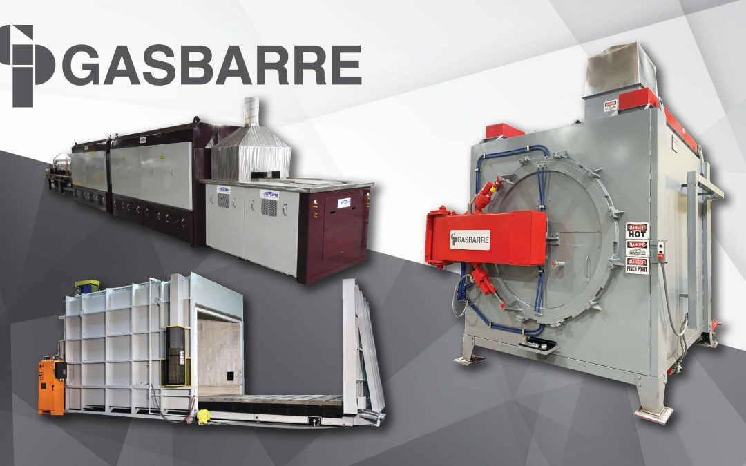 Gasbarre Products, Inc. Announces Enhancements to Thermal Processing Systems- New Developments at Gasbarre