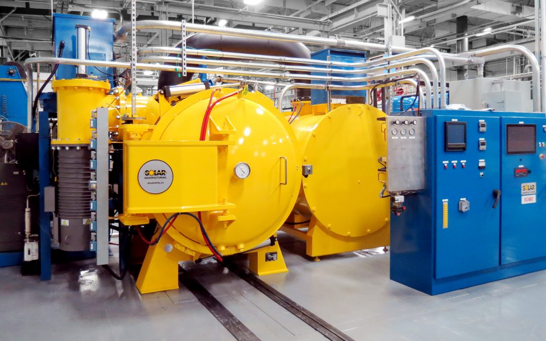 Solar Manufacturing Builds MuShield's First Vacuum Furnace