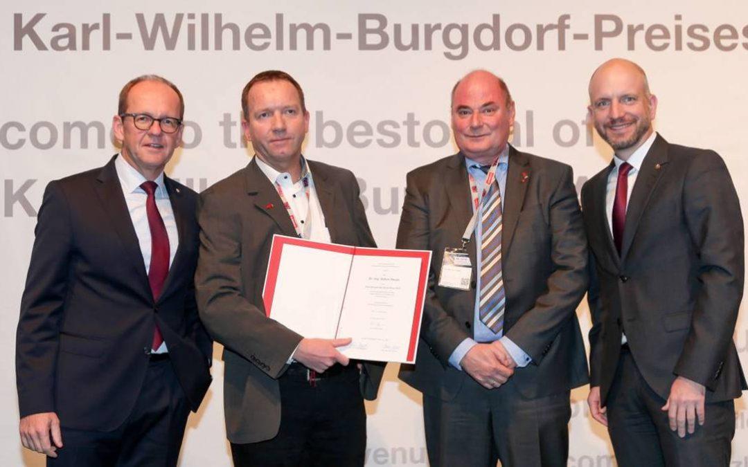 Karl-Wilhelm-Burgdorf Prize awarded to Dr. Heuer
