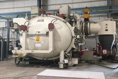 Item#VF366 Dynatech DFHH1500 Rebuilt Horizontal Loading Vacuum Furnace (LOCATED IN THE UK)