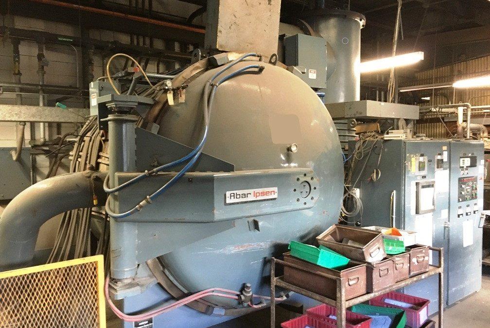 Item #VF370 Abar Ipsen HR-50 X 48 2 Bar Vacuum Furnace