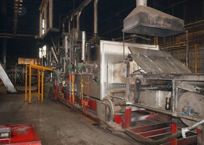 Item#C360 AFC 2,000 Pound/Hour Mesh Belt Furnace Line