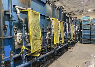 Item#C361 Rogers 3500 lbs/hour Mesh Belt Furnace Line