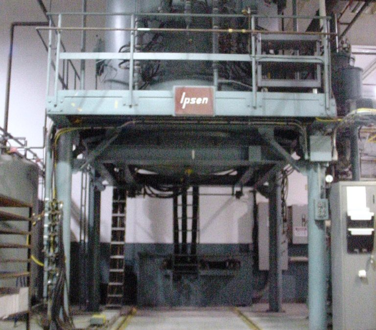 "Item#VF374 Ipsen Bottom Load Vacuum Furnace 60"" X 48"""