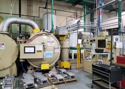 "Item#VF376 VFS 2 Bar Quenching Vacuum Furnace Working Dimensions 24"" X 24"" X 36"""