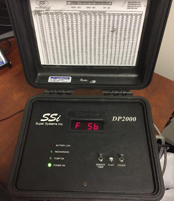 Item#L30 Super Systems, Inc. DP2000 Digital Dewpoint Analyzer