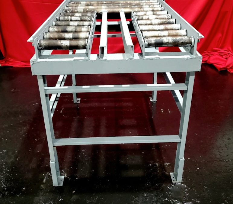 Item#M444 Surface Combustion 30″x48″ or 36×48″ Rail Storage Table