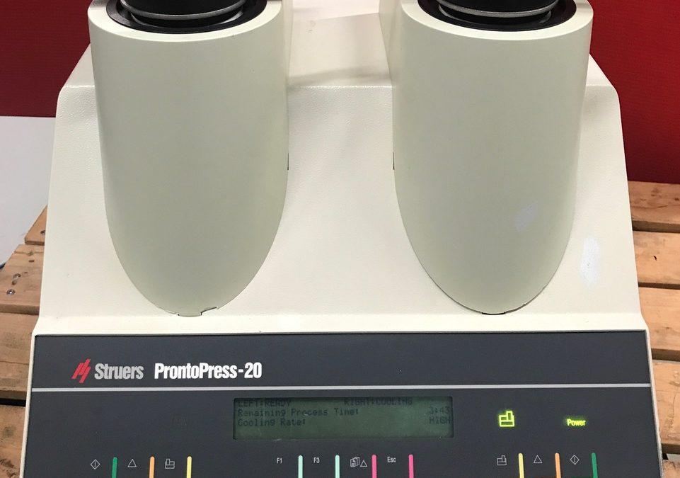 Item#L29 ProntoPress-20 DUAL Hot Mounting Press