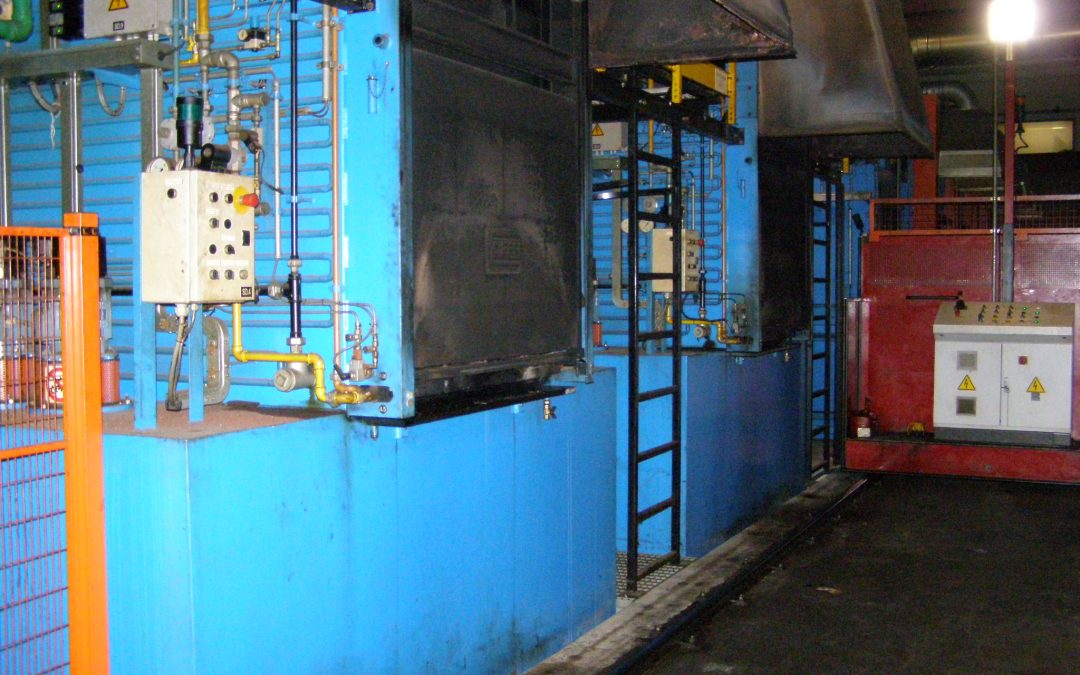 Item#IQ473 Complete Sealed Quench Heat Treat Facility Available (ITALY)
