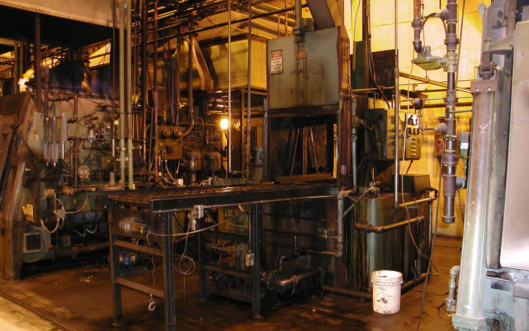 Item#IQ474 Complete Carburizing Heat Treatment Department Available