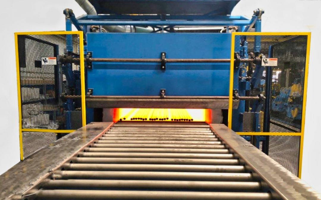 Abbott Furnace Installs & Commissions a Roller Hearth Tube Annealing Furnace