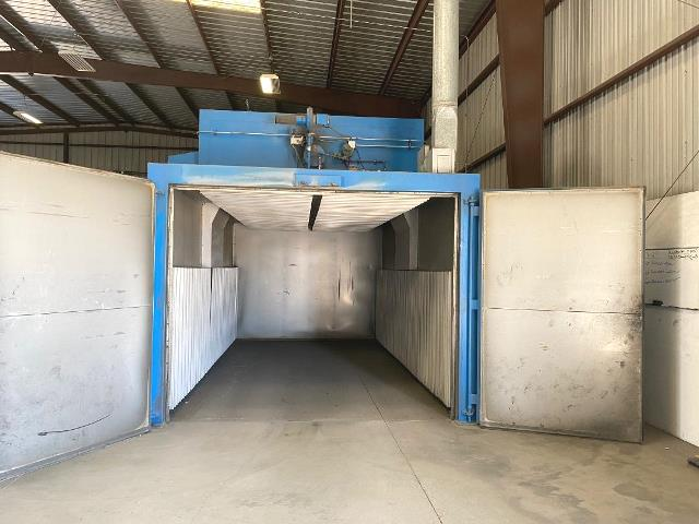 Item#T388 Baker Furnace Curing Oven 10' X 8' X 20' Long 550F
