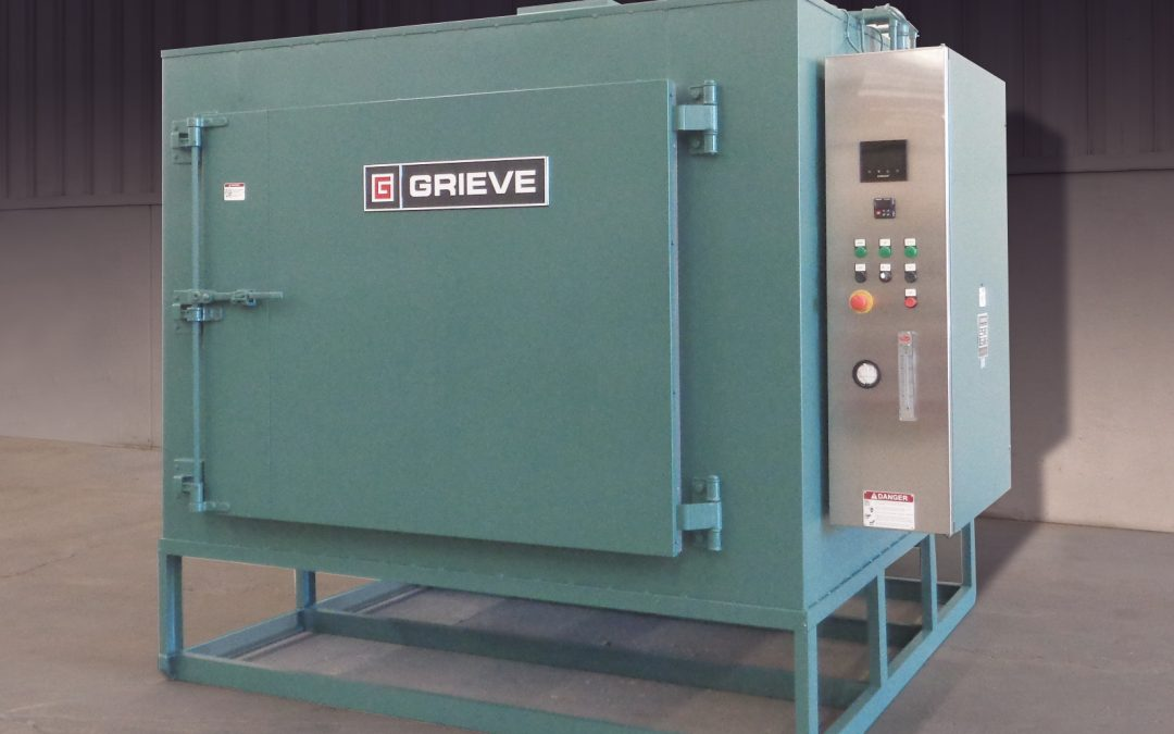 Grieve Delivers Oven To Fire Arms Heat Treater
