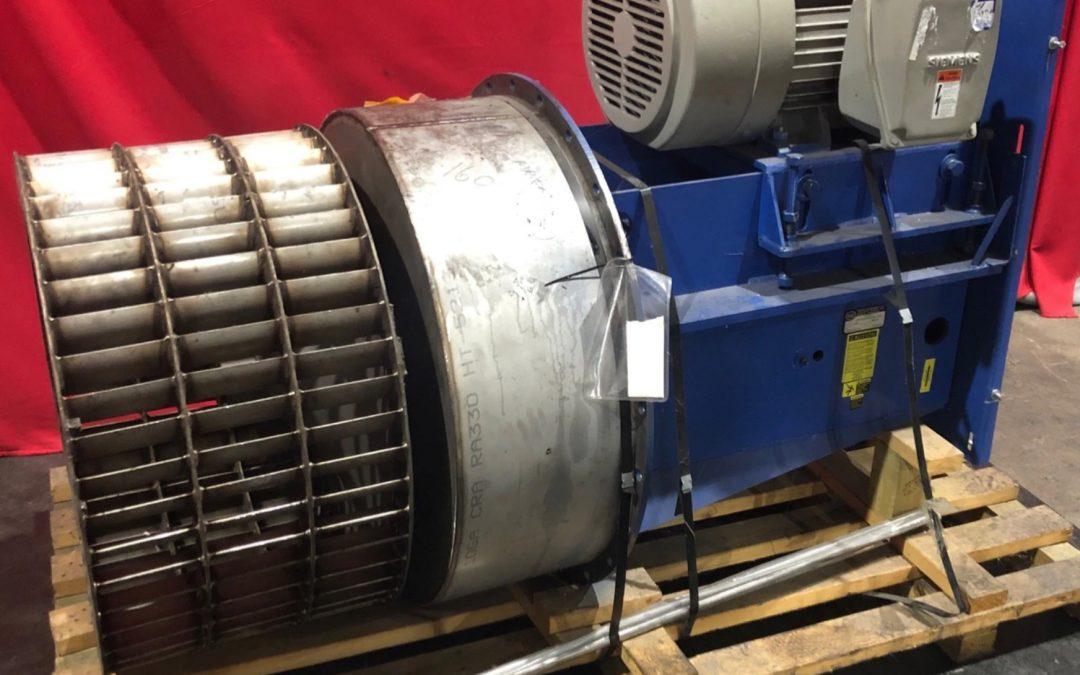 Item#M449 IGE MI-330-FC-T Multiblade Forward Curved Centrifugal Fan