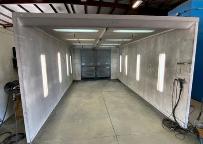 Item#M451 Spray Booth 20' Long x 12' Wide x 7' High
