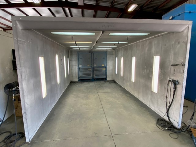 Item#M451 Spray Booth 20' Long x 12' Wide x 7' High