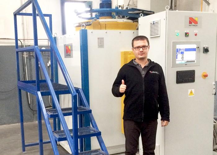 Alugen Aluminum Turkey Installs Nitrex Nitriding/Nitrocarburizing System
