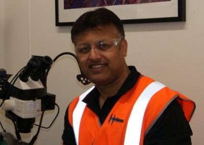Mr. Mrinal Nandi of Hofmann Engineering in Australia