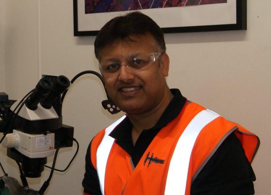 Mr. Mrinal Nandi of Hofmann Engineering in Australia