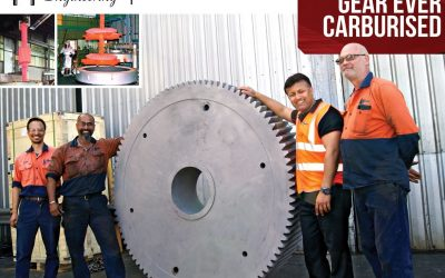 Hofmann Engineering Australia Carburizes Their Largest Gear Ever