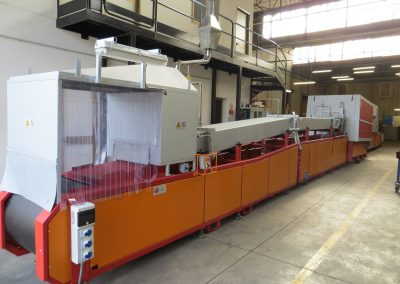 Item#C368 Mesh Belt Brazing Line Located in Italy
