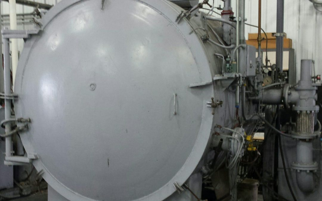 Item# VF387 Surface Combustion Vacuum Temper Furnace
