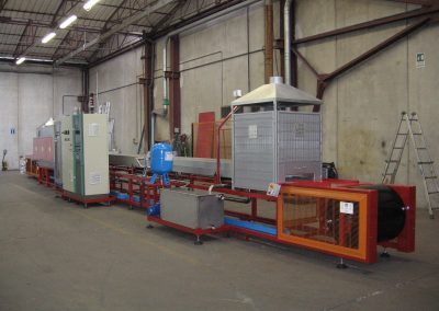 Item# C371 Mesh Belt Brazing Line-Located in Italy