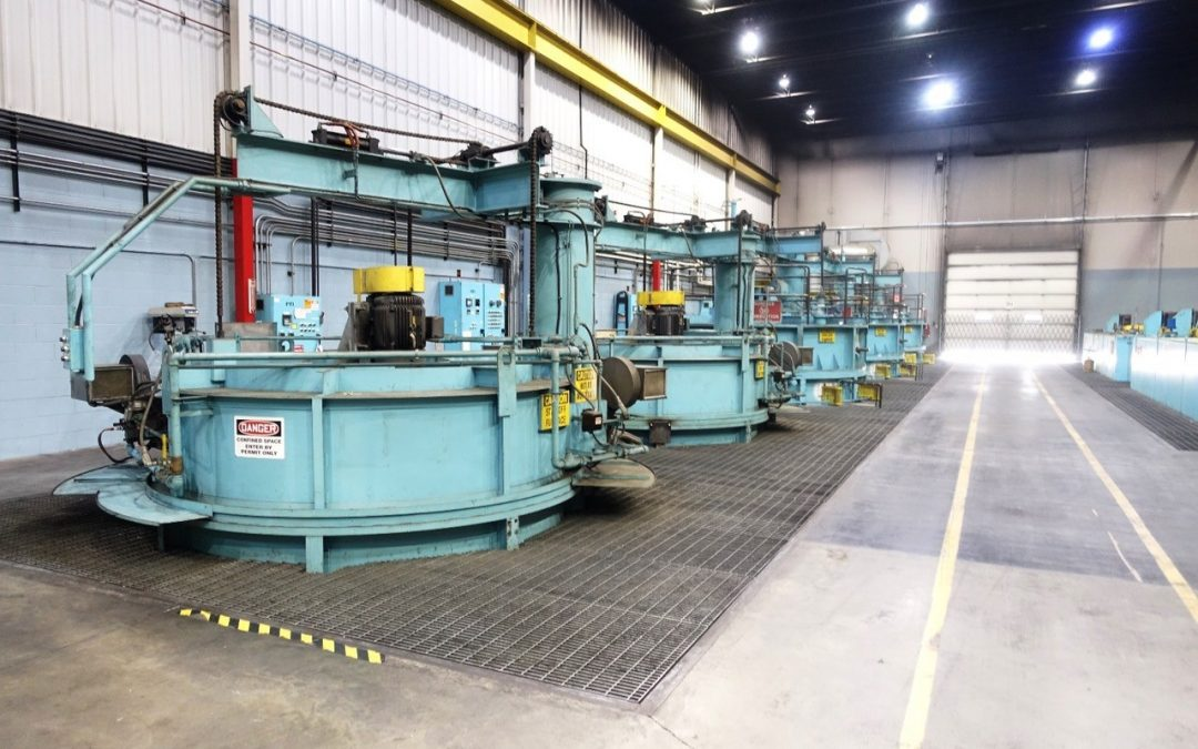 Merit Gear, Antigo, Wisconsin, Closed-Heat Treating Furnaces to be Auctioned Off