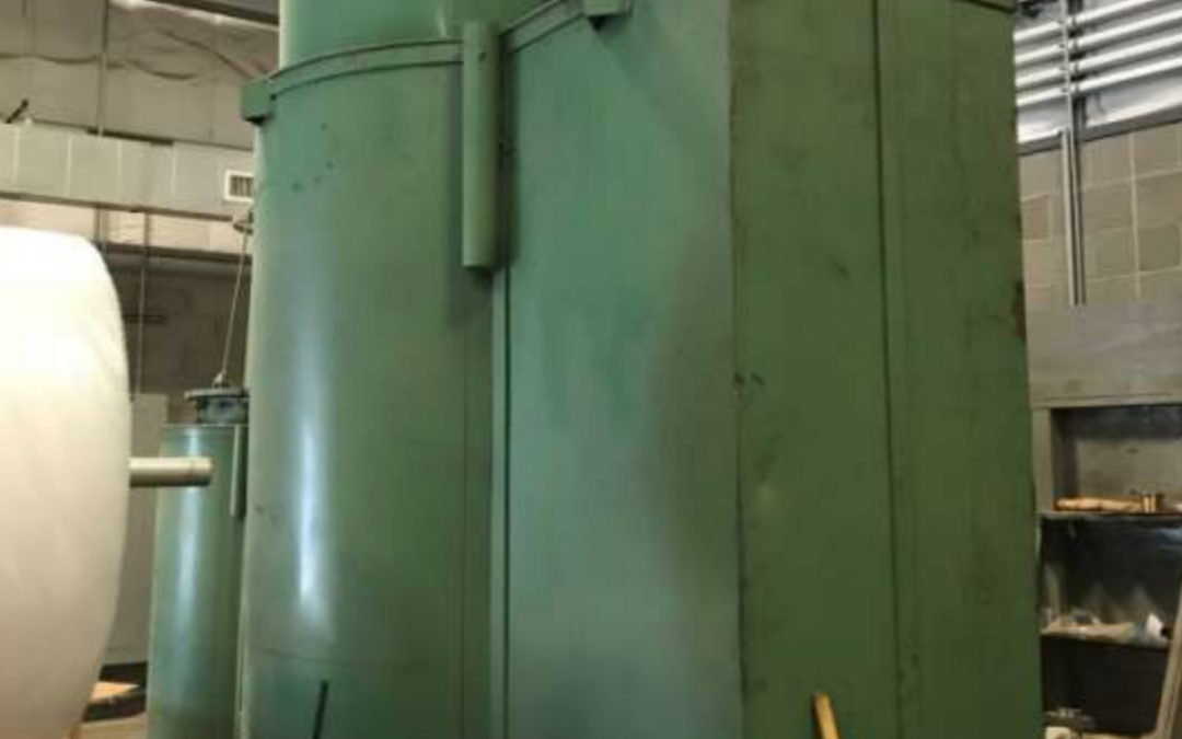 Item# B481 Lindberg Pit Gas Nitriding Furnace