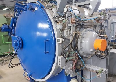 Item# VF 389 Rebuilt Ipsen Vacuum Furnace Located In Romania