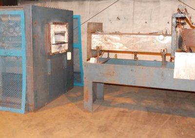 Item# C375 CI Hayes Pusher Furnace, Electric
