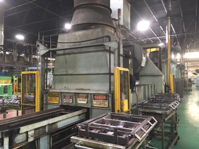 Item#T402 Tube Tempering Furnace & Cooling Unit