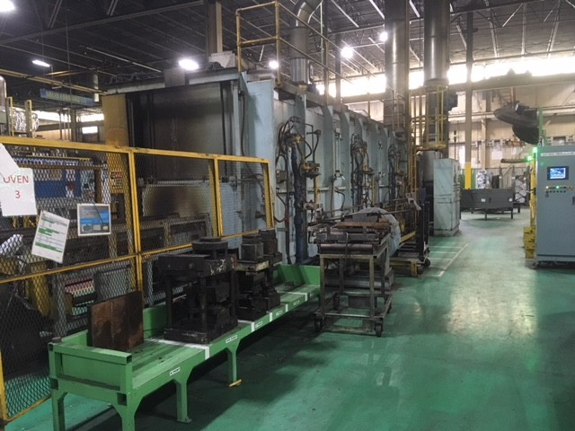 Item#T401 Continuous Indexing Chain Style Temper Furnace