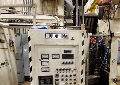 Item# I186 InductoHeat 250KW Dual Spindle Induction Scanner