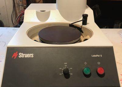 Item# L46 Struers LaboPol-5 Manual Polisher