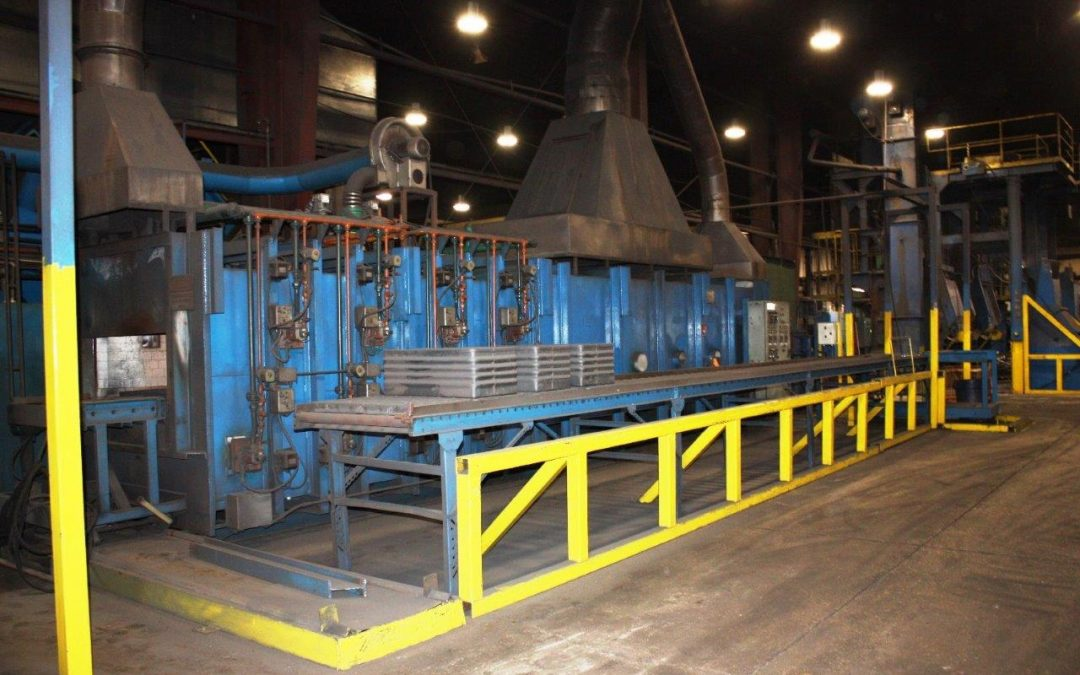 Item# C380 Pusher Furnace Available-Single Row 1800-2000 Pounds/Hour