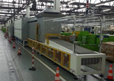 Item# C381 INOX LINE 70-20-500-AI Conveyor Belt Continuous Furnace (Located In Spain)
