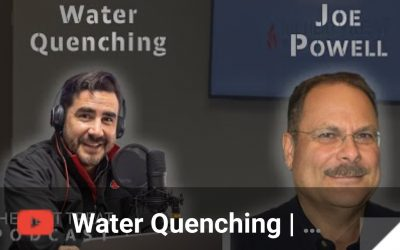 """""""The Heat Treat Podcast"""" Talks Water Quenching with Mr. Joe Powell"""