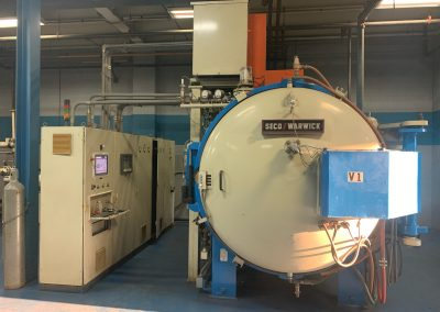 Item# VF396 12 Bar Quenching Vacuum Furnace with Vacuum Carburizing Capability