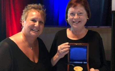 Dr. Kathy Hayrynen, Applied Process Receives John. H. Whiting Gold Metal